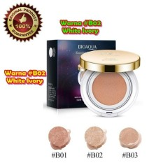 Bioaqua Exquisite And Delicate Bb Cream Air Cushion Pack Gold Case Spf 50 Foundation Bb Gold Non Refill Murah