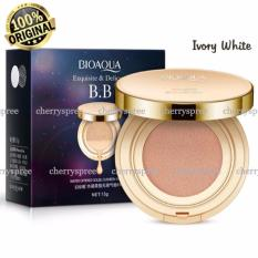 Ulasan Lengkap Tentang Bioaqua Exquisite And Delicate Bb Cream Air Cushion Pack Gold Case Spf 50 Foundation Make Up Wajah Bersih Ivory White 15Gr