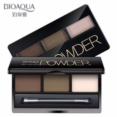 Jual Bioaqua Eyebrow Powder 3 In 1 Alis Mata 3In1 Pallete Powder Eyebrow Charm 01 Brown Branded Murah