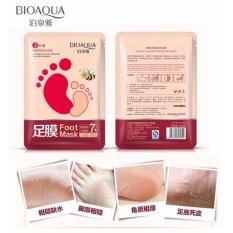 Bioaqua Foot Mask Baby Foot - Masker Kaki - Solusi Kaki Pecah - Pecah