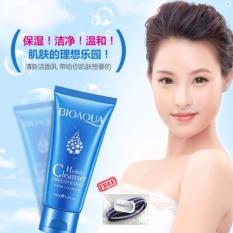 Bioaqua Hydra Cleanser Foam Cleanser - 100g + Free Polkadope Ikat Rambut - 1 Pcs