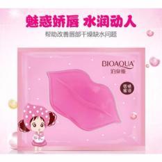Bioaqua Masker Bibir Pink Isi 10 pcs - Collagen Nourish Lips Membrane