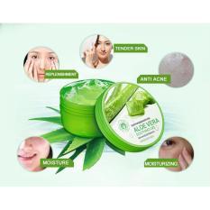 Toko Bioaqua Natural Aloe Vera Smooth Gel Acne Treatment Face Cream For Hydrating Moist Repair After Sun Murah Dki Jakarta
