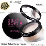 Jual Bioaqua Original Bedak Tabur Silky Soft Honey Powder Matte Loose Powder Ekstrak Madu Make Up Wajah Lebih Cantik Varian Natural Original