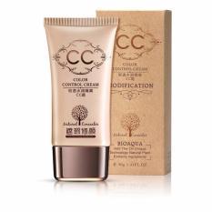 Bioaqua Original CC Cream Natural Radiation Free Buat Wajah Tampak Bersih Halus Merata Natural Make Up Foundation - 40gr