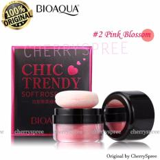 Bioaqua Original Perona Pipi Chic Trendy Soft Rose Blush On Powder - 4gr