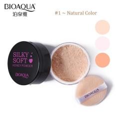 Bioaqua Silky Soft Honey Powder Loose Powder Bedak Tabur - #1 Natural Color