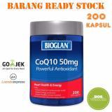 Jual Bioglan Coq10 50Mg 200 Kapsul Termurah