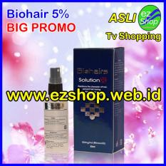 Biohairs Solution 5% - Tonic / Serum / Obat Penumbuh Rambut Alami (Biohair / Bio Hair / Hairs Shampoo) - Jaminan Asli EzShop - Ez Shop Tv Home Shopping Indonesia