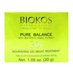 Biokos Pure Balance 20s Nourishing Gel Night Treatment - 30g