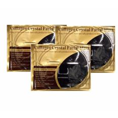 Beli Black Collagen Crystal F*c**l Mask Isi 3 Buah Dki Jakarta