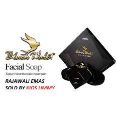 Sabun Black Walet Rajawali Emas Facial Soap isi 3 pcs@45 gr