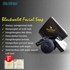 Sabun Black Walet Asli - Black Wallet Facial Soap Original - Sabun Kecantikan Wajah 1 Box Isi 3pcs By Azka Collections.