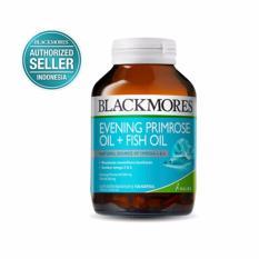 Blackmores Evening Primrose Oil + Fish Oil BPOM Kalbe 100's - EPO, Omega 3, Omega 6, Fish Oil, Miny