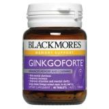 Jual Blackmores Ginkgo Forte 2000 Mg 40 Kapsul Exp 2018 Untuk Daya Ingat Blackmores