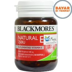 Spesifikasi Blackmores Natural E 250 Iu Murah