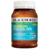 Review Blackmores Odourless Fish Oil 1000Mg 200 Kapsul Blackmores