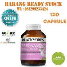 Harga Blackmores Pregnancy And Breastfeeding Gold Bpom Kalbe 120 Kapsul New