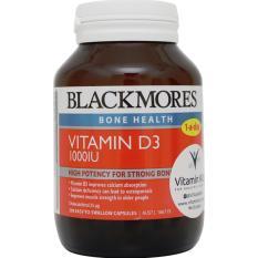 Beli Blackmores Vitamin D3 1000Iu 200 Caps Yang Bagus