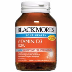 Ulasan Blackmores Vitamin D3 1000Iu 200 Tablet