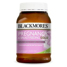 Blackmorres Pregnancy & Breastfeeding Gold (180) By Lazada Retail Blackmores.