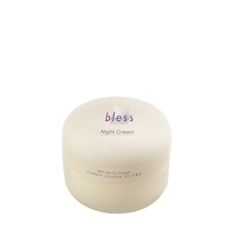 Spesifikasi Bless Night Cream 18Gr Merk Bless