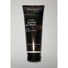 Blossom Sunblock Cocoa Butter SPF 100 with Body Cream