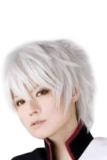 Harga Bluelans® Pendek Pesta Cosplay Wig Yang Lurus Putih Origin