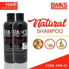 BMKS SHAMPOO BLACK MAGIC KEMIRI NATURAL SHAMPO HAIR NUTRITION ORIGINAL BPOM - KPR-01