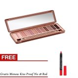 Bos Online N3 Pallete Eyeshadow Gratis Kissproof No 18 Merah Bos Online Diskon 40