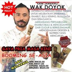 Promo Bos Online Wak Doyok Original Cream Penumbuh Jambang Dan Jenggot Akhir Tahun