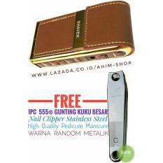 BOTENG Shaver Alat Cukur Kumis Jenggot Jambang FREE 1pc 555® Gunting Kuku Besar Nail Clipper Stainless Steel High Quality