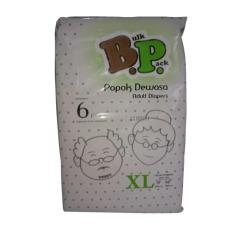 Bp Adult Diapers / Popok Dewasa - Size XL - 06 Pcs