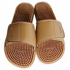 Spesifikasi Brix Maseur Sandal Kesehatan Sandal Refleksi Beige Size 42 Yang Bagus Dan Murah