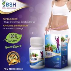 Spesifikasi Body Slim Herbal Original Bpom New Packing Bsh Penurun Berat Badan