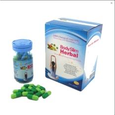 BSH Capsul Body Slim Herbal 1 Botol 30 Kapsul Original Kapsul Pelangsing Berat Badan