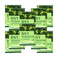 Harga Bsy Black Noni Beestore Black Hair Magic Shampoo Kemasan 20 Sachet Baru