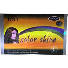 Jual Beli Bsy Color Shine Penghitam Rambut Alami Dark Brown Herbal Alami 1 Box 12 Sachet Original Asli Black Hair Anti Ketombe Dandruff Rontok Tidak Beruban Menutrisi Kulit Kepala Sehat Berkilau Cokelat Tua Dki Jakarta