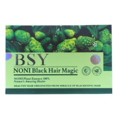Ulasan Lengkap Bsy Noni Black Hair Magic Shampoo 1 Box Hijau