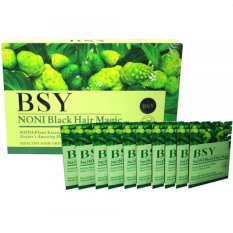 Harga Hemat Bsy Noni Black Hair Magic Shampoo 10 Sachet