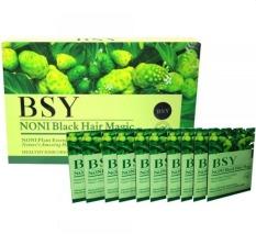 BSY Noni Shampo 1 box isi 20 Sachet strip hijau BPOM 100% Ori