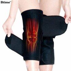 Btime Tourmaline Self Heating Kneepad Terapi Magnetik Lutut Support Tourmaline Sabuk Pemanas Lutut Massager-Intl