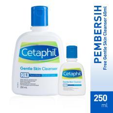 Spesifikasi Bundle Gsc 60 Cetaphil Gentle Skin Cleanser 250Ml Free Gsc 60Ml Merk Cetaphil