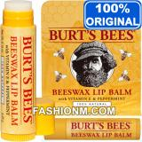 Review Pada Burt S Bees Beeswax Lip Balm With Packaging