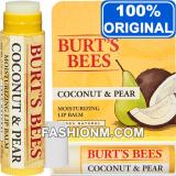 Situs Review Burt S Bees Coconut Pear Cause Lip Balm With Packaging