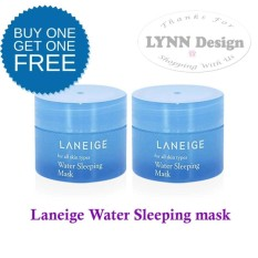 [2 pcs] Laneige Water Sleeping mask 15 gr / Night Cream Masker_Lynn Design