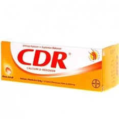 Spek Calcium D Redoxon Eff 10 S Cdr Kalsium Vitamin Suplemen Tulang Bayer