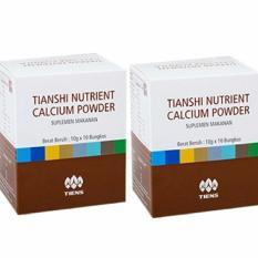 Spesifikasi Calcium Powder Peninggi Tiens