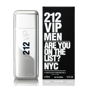 Jual Carolina Herrera 212 Vip Men Edt Product 100Ml Riau Islands Murah
