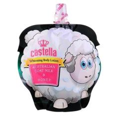 Castella Whitening Lotion Rasa Almond Oil & Susu Kambing BPOM - 150ml